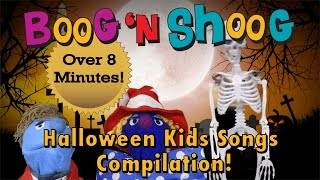 Halloween Kids Song Compilation Trick or Treat with Boog n Shoog
