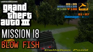 GTA 3 - Walkthrough - Mission #18 - Blow Fish (HD)