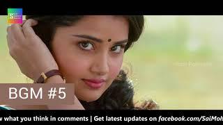Vunnadhi Okate Zindagi #BGM   7 BGMs & Ringtones   #DSP Background Music   Ram, Anupama, Lavanya   Y
