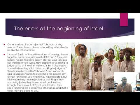 HOW WE ISRAEL WILL SERVE OUR GOD PT 01