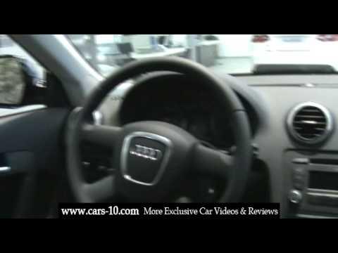 2009 Audi A3 Sportback Interior Review  YouTube