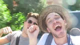 YOUTUBERS TAKE OVER DISNEYLAND