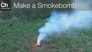 How to make a Smokebomb (Sodium nitrate + Sorbitol)