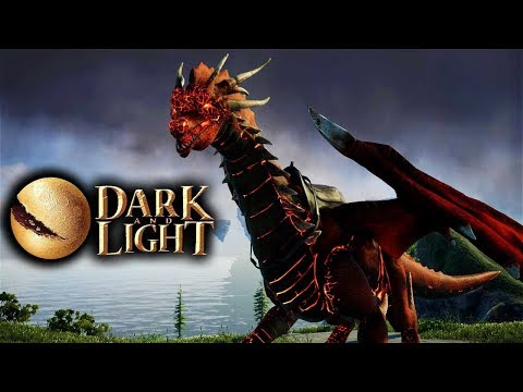 Dark and Light - Taming An Infernus Dragon Solo! (Red Fire Dragon) (Dark and Light Gameplay Part 26)
