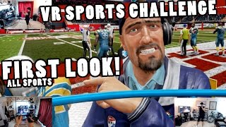 VR SPORTS CHALLENGE - FIRST LOOK! (ALL SPORTS) OCULUS + TOUCH