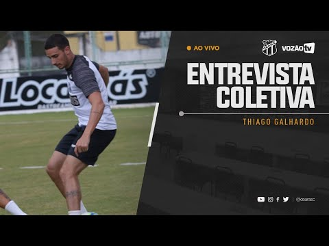 COLETIVA Thiago Galhardo  02072019  Vozão TV