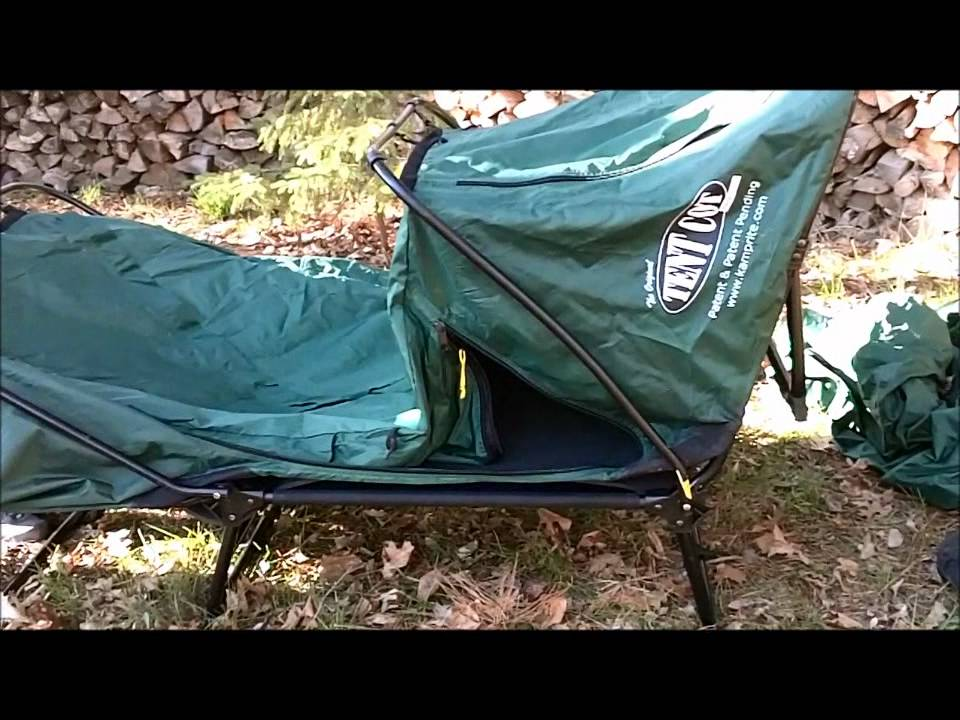 & Kamp-rite Tent Cot. A Zachary review. - YouTube