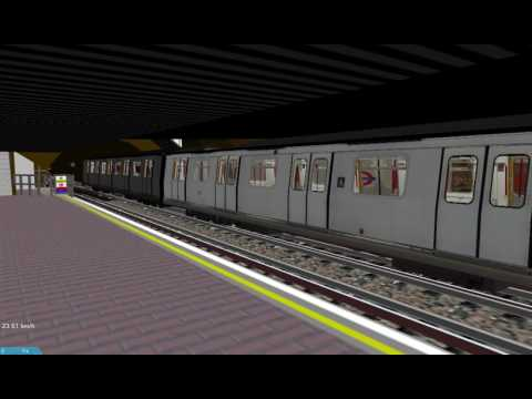[Openbve] MTR M train departs from Whitechapel station at London tube station
