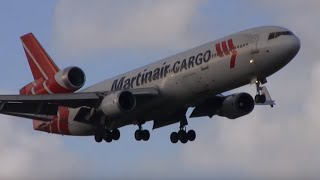 Busy plane spotting day at Amsterdam airport | 23 planes in 10 minutes