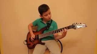Maybe Next Time на гитаре исполняет мальчик 9 лет