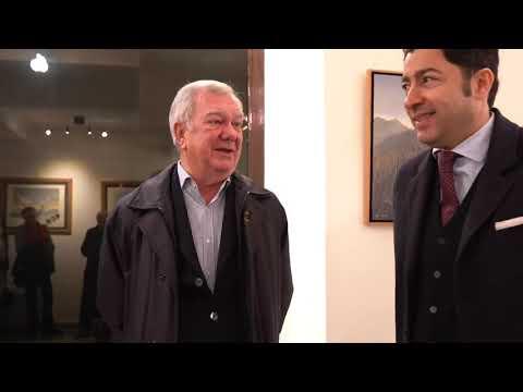 Milano Art Gallery: vernissage della mostra di Marco Locci con Salvo Nugnes