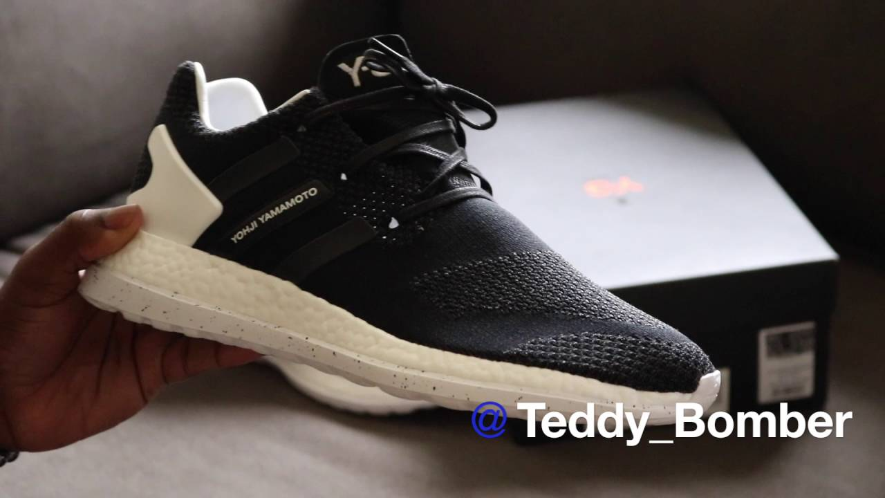 63f891605db6 Y-3 Pure Boost ZG Knit - YouTube