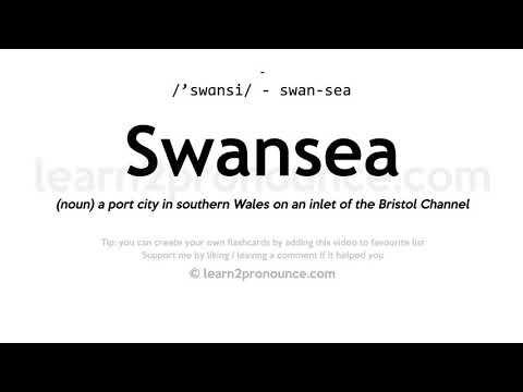 Swansea pronunciation and definition