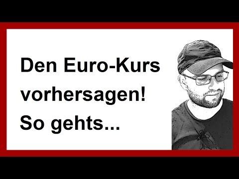 Den Euro-Kurs vorhersagen? So gehts! (Forex Daytrading Traden lernen für Anfänger)