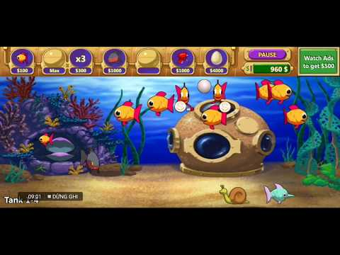 insaniquarium deluxe feed fishes fight aliens mod apk