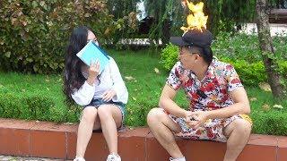 Mũ lửa - Siêu Phẩm kinh điển | Burning Hat Magic Prank