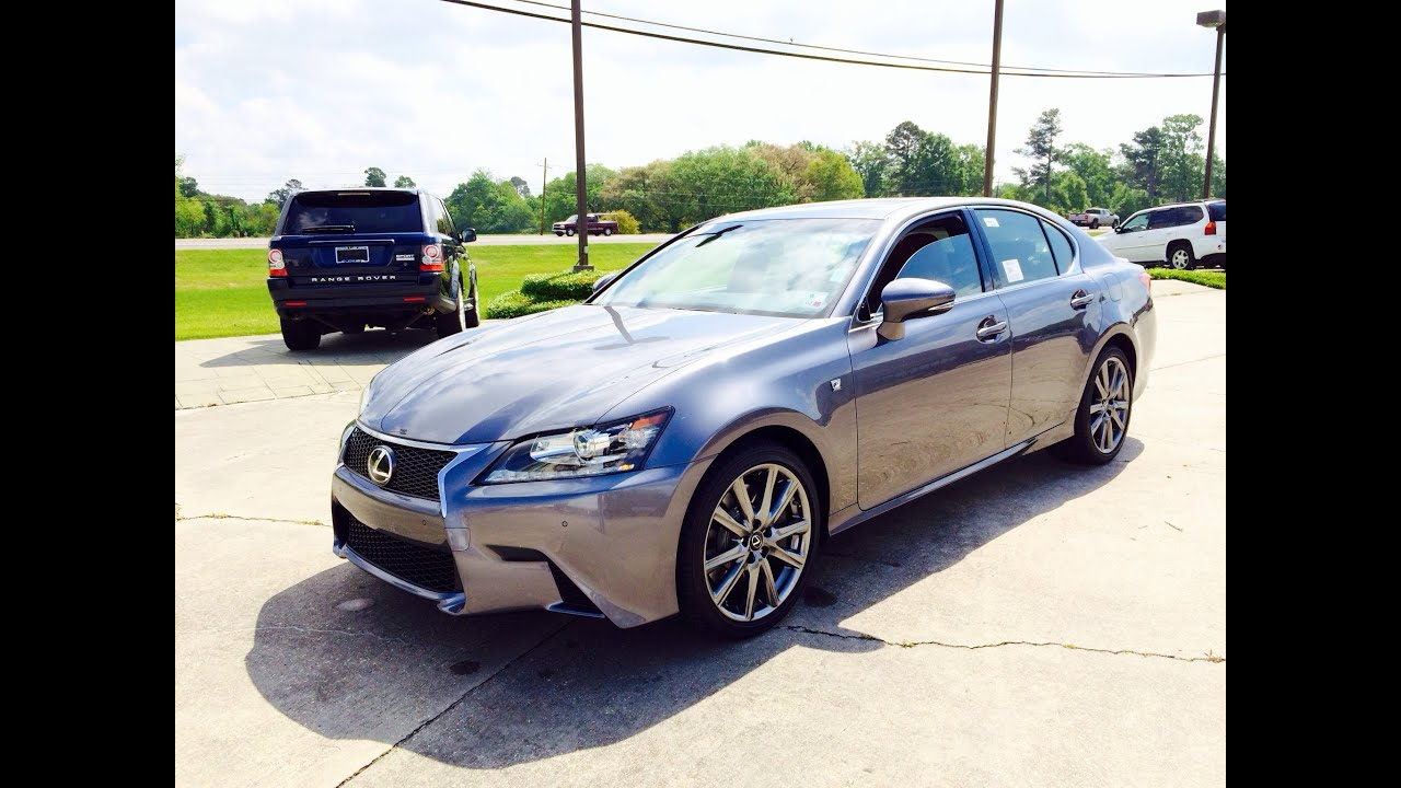 2014 Lexus GS350 F Sport Exhaust Start Up and In Depth Review
