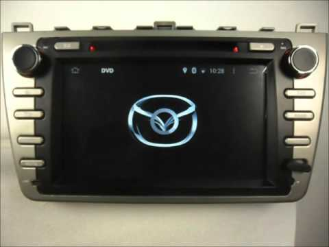 mazda 6 android auto radio dvd gps wifi youtube. Black Bedroom Furniture Sets. Home Design Ideas