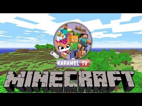 İlk Oyun Videomuz Gelsin Minecraft || Karamel TV Oyunda