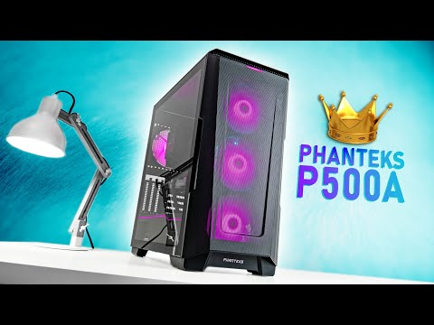 New Airflow KING...but there's a Catch - Phanteks P500A Case Review