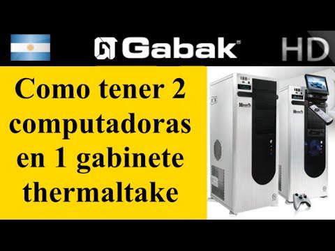 2 Computadoras en 1 gabinete thermaltake mozart tx