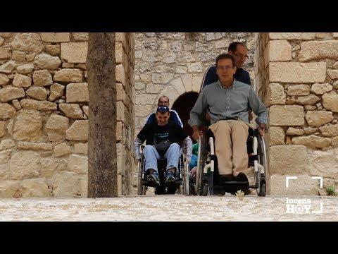 """VÍDEO: Lucena acoge una """"kedada"""" de turismo accesible"""