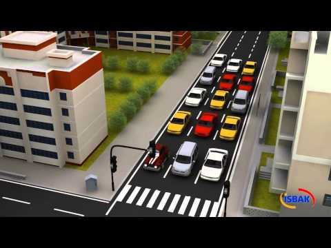 İSBAK - Full Adaptive Traffic Management System (ATAK) Video - ENG