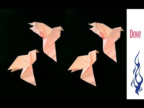 Dove 🕊 Bird for peace - DIY Origami Tutorial by Paper Folds ❤️