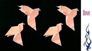 Origami Paper Dove !!