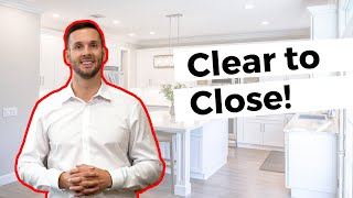 "What does ""Clear to Close"" mean?! #movemetotx"