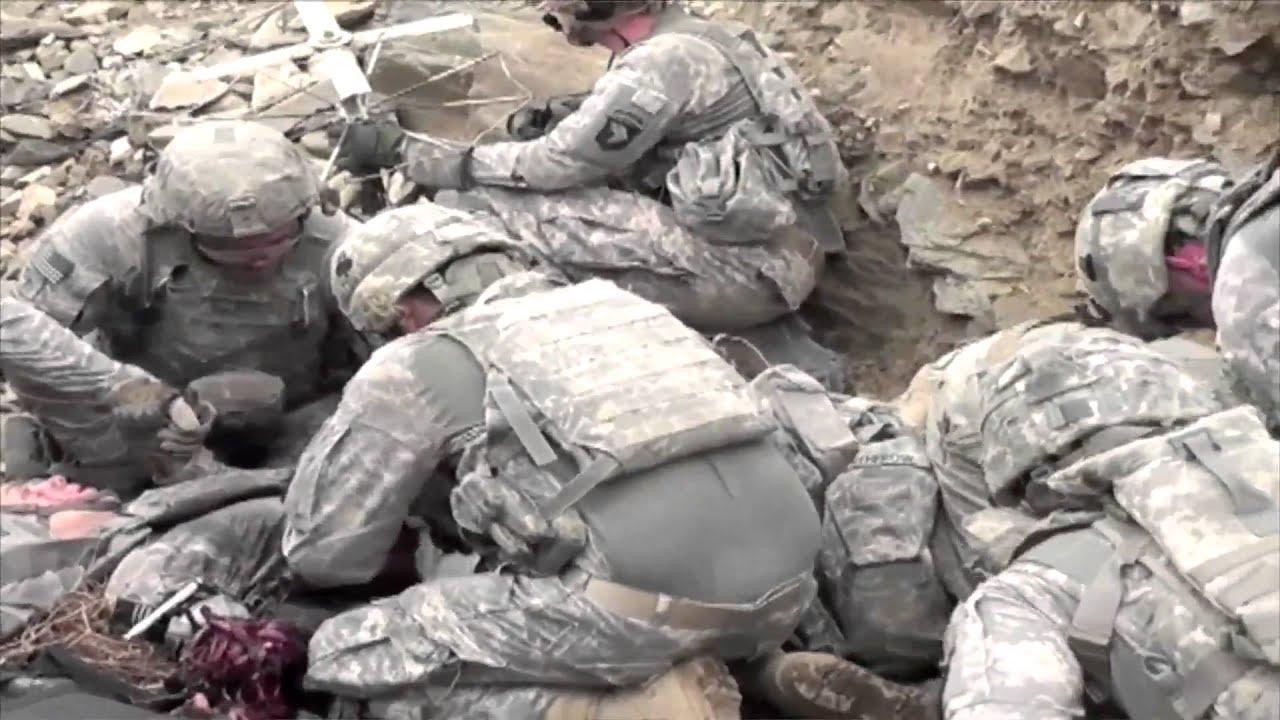 First Hand Look At Taliban Ambush Youtube