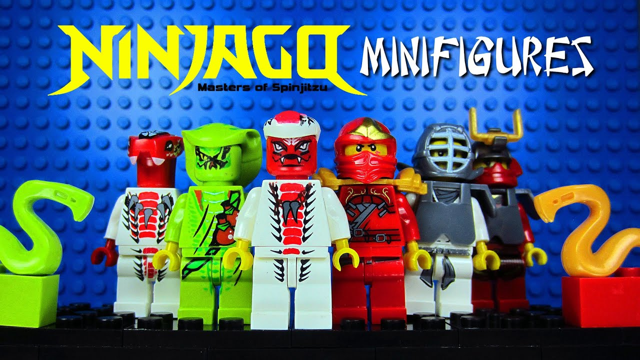 Lego Ninjago Masters Of Spinjitzu Ninja Vs Serpentine