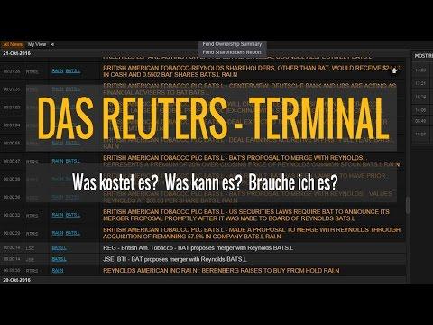 Das Reuters-Terminal - Was kostet es, was kann es und brauche ich es?