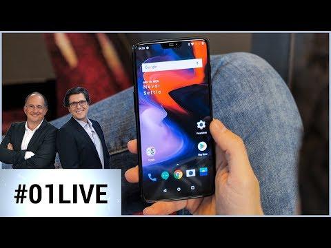 01Live Hebdo #185 : le OnePlus 6 va-t-il casser la baraque ?