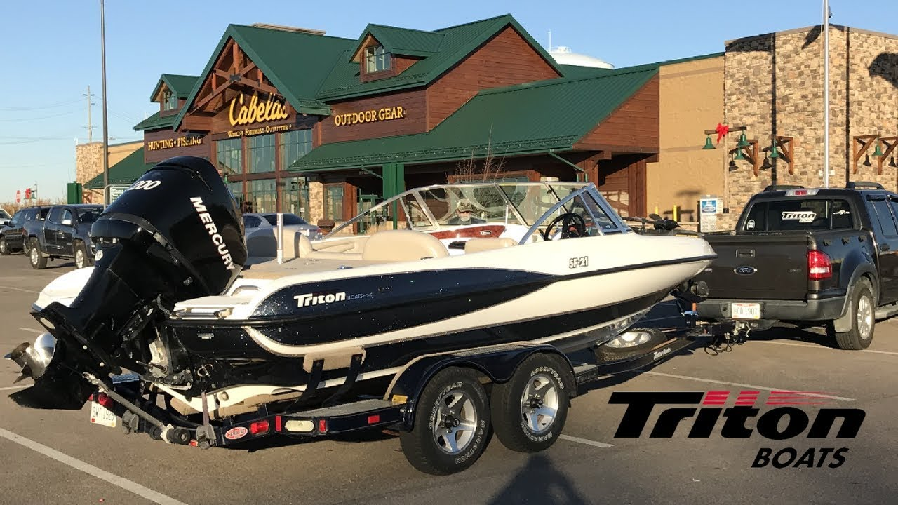 Triton boats Triton SF-21 First few times out fishing and family time