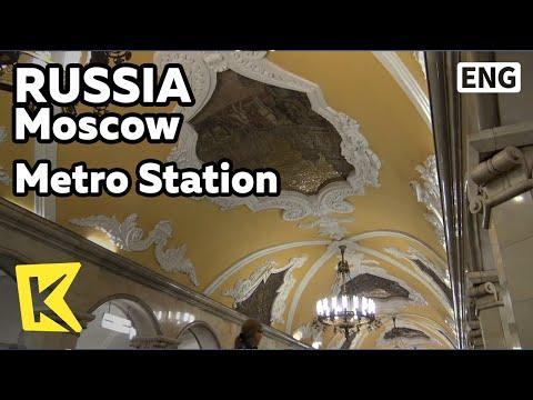 【K】Russia Travel-Moscow[러시아 여행-모스크바]지하궁전 지하철역/Metro Station/Revolution Square/Dostoevsky Station