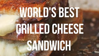 World's Best Grilled Cheese Sandwich Recipe - The 60 Second Chef