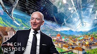 Watch Jeff Bezos Reveal Blue Origin's Detailed Plan For Colonizing Space