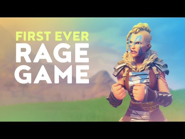 FIRST EVER RAGE GAME - THEY SAY I NEVER GET ANGRY! (Fortnite Battle Royale)