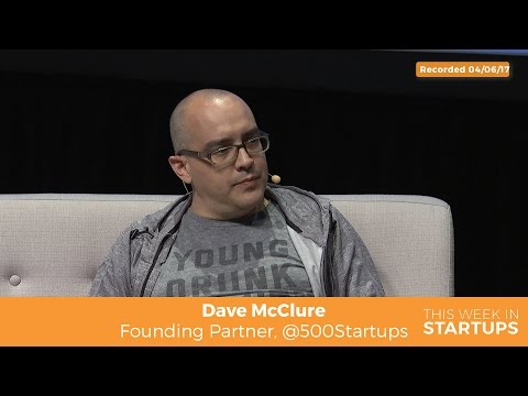 500 Startups' Dave McClure on common early-stage startup mistakes: need to pay attn to mktg & sales