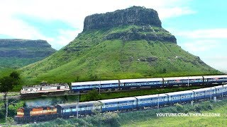 The most beautiful Mountains & Trains | MANMAD | Indian Railways