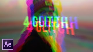 Create 4 Popular Glitch Effects Very Fast | After Effects Tutorial