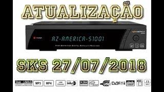 AZAMERICA BAIXAR S1001 PLUS ATUALIZAO