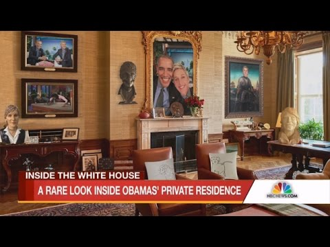 Exclusive! A Look Inside the Obamas' Private Residence