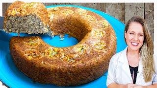 Bolo Saudável Delicioso – Sem Açúcar e sem Farinha de Trigo