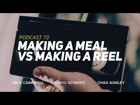 """Greyscalegorilla Podcast Ep. 72: """"Making a Meal vs Making a Reel"""""""