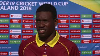 Cricket World Tv   West Indies V Ireland Highlights | Plate Icc U19 World Cup 2018