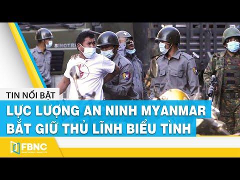 Lực lượng an ninh Myanmar bắt giữ thủ lĩnh biểu tình #shorts