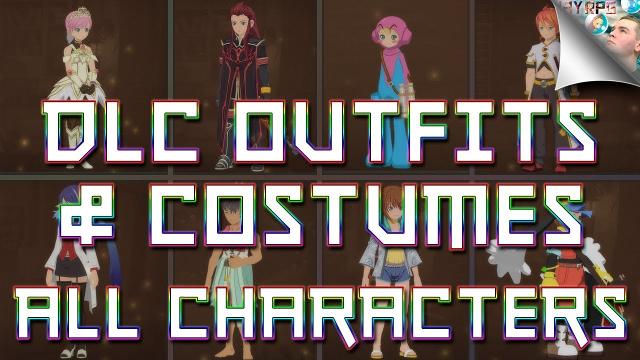 Tales Of Vesperia Definitive Edition All Dlc Outfits Costumes