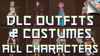 Tales of Vesperia Definitive Edition: ALL DLC Outfits & Costumes (All Characters) | How to Redeem